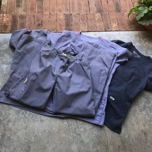 Gray scrub bundle - 3 sets